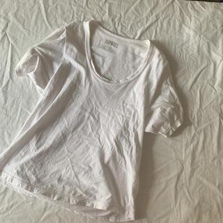 ファビアンルー(Fabiane Roux)のnowos    コットンTシャツ(Tシャツ(半袖/袖なし))