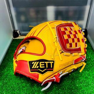 ゼット(ZETT)のZETT プロステイタス 軟式オリジナルオーダーグラブ 内野手 源田型(グローブ)