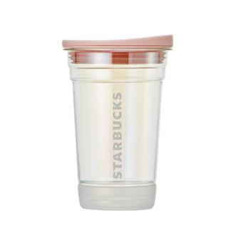 Starbucks Coffee - (海外)韓国スタバ★チェリーブロッサムDM★新★フタ付きコップ★トッドグラス