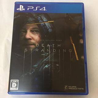 PlayStation4 - ps4 デスストランディング 美品