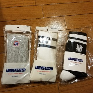 UNDEFEATED - UNDEFEATED SOCKS 3足