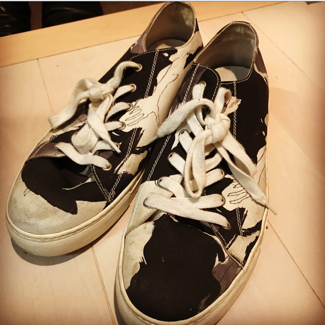 Yohji Yamamoto(ヨウジヤマモト)のyohji yamamoto オシャレ スニーカー  メンズの靴/シューズ(スニーカー)の商品写真