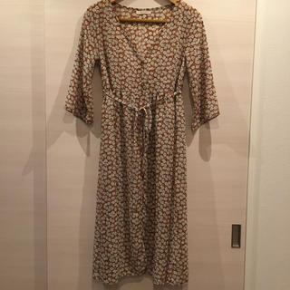 chocol raffine robe - 花柄ワンピース ロングワンピース ガウンワンピース