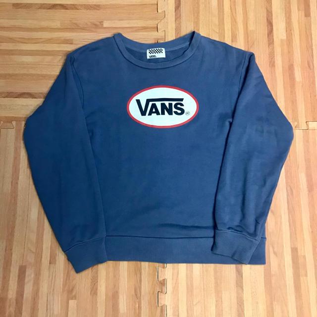 VANS(ヴァンズ)のバンズ トレーナー スウェット VANS 古着 90s 人気 ロゴ レディースのトップス(トレーナー/スウェット)の商品写真