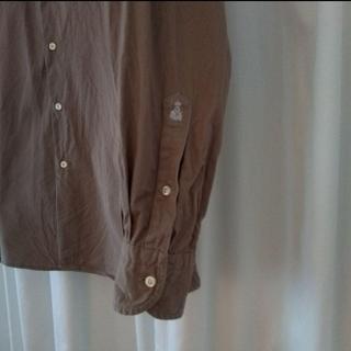 ギローバー(GUY ROVER)のギローバー(GUY ROVER)の長袖オープンカラーシャツ(シャツ)