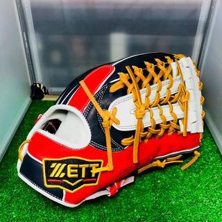 ゼット(ZETT)のZETT プロステイタス 軟式オリジナルオーダーグラブ 外野手用(グローブ)