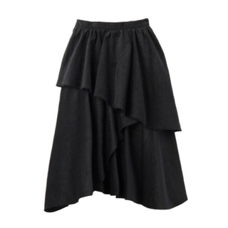 パメオポーズ(PAMEO POSE)のPAMEOPOSE ティアードスカート(ひざ丈スカート)