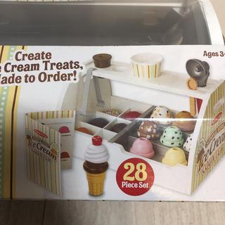 ボーネルンド(BorneLund)の★メリッサ&ダグアイスクリーム木製おままごとセット★(知育玩具)
