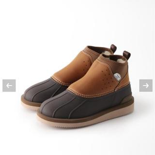 ドゥーズィエムクラス(DEUXIEME CLASSE)の完売!新品 ドゥーズィエムクラス SUICOKE boots ブラウン 38(ブーツ)