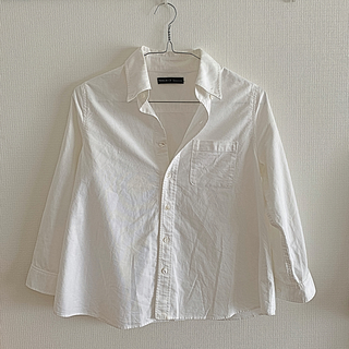 シンゾーン(Shinzone)のシンゾーン ミラーオブシンゾーン 白シャツ(シャツ/ブラウス(長袖/七分))