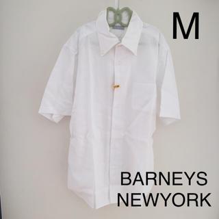 バーニーズニューヨーク(BARNEYS NEW YORK)のバーニーズニューヨーク メンズ 半袖 シャツ ワイシャツ M(シャツ)