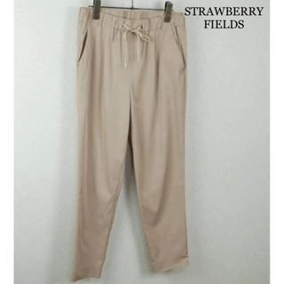 STRAWBERRY-FIELDS - 【美品】STRAWBERRY-FIELDS 春物 クロップトパンツ