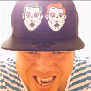 激レア⭐️口青マキコ&エスミキャップ 野性爆弾くっきー 紫歯茎(お笑い芸人)
