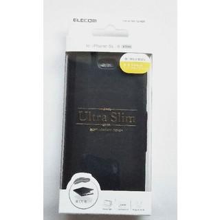 ELECOM - iPhone6s/6用ソフトレザー手帳型ケース ブラック