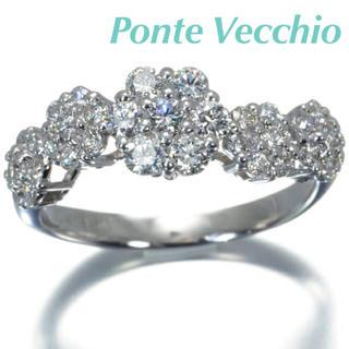 PonteVecchio - ✴︎Ponte Vecchio✴︎ダイヤモンド フラワーモチーフ リング #7