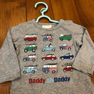 ダディオーダディー(daddy oh daddy)のダディオダディ 長袖Tシャツ 80 男の子(Tシャツ)