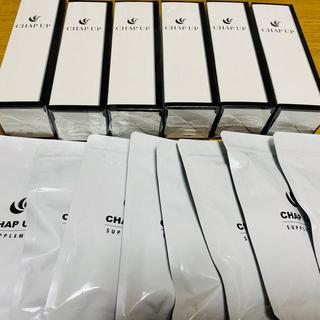 【チャップアップ】育毛ローション120ml×6本 & サプリメント×8袋セット(スカルプケア)