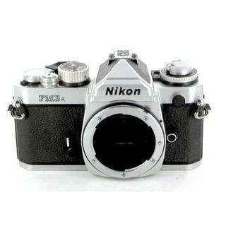 ニコン(Nikon)のニコン nikon FM3A シルバー(フィルムカメラ)
