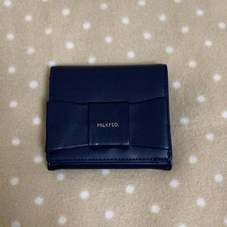 ミルクフェド(MILKFED.)のMILKFED. 2つ折り財布(財布)