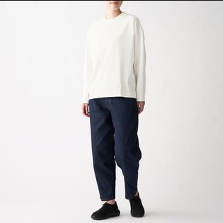 MUJI Labo 天竺編みクルーネックドロップショルダーTシャツ(Tシャツ(長袖/七分))