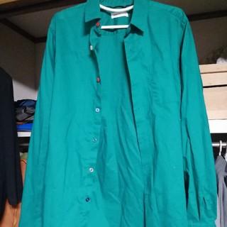 ブラウニー(BROWNY)のシャツ/グリーン/L/ブラウニーBROWNY(シャツ)