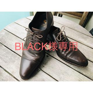 バーバリーブラックレーベル(BURBERRY BLACK LABEL)のBURBERRY BLACK LABEL キャップトゥドレスシューズ(ドレス/ビジネス)