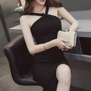 エミリアウィズ(EmiriaWiz)のホルターネックワンピース キャバ ドレス(ナイトドレス)
