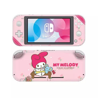 ニンテンドースイッチ(Nintendo Switch)のSwitch スキンシール スイッチ マイメロ あつまれどうぶつの森 サンリオ(携帯用ゲームソフト)
