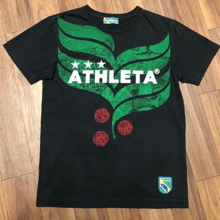 ATHLETA - アスレタ  Tシャツ ブラック☆Sサイズ