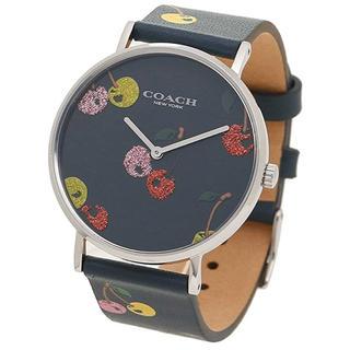 COACH - タグ付き新品★COACH Perry 腕時計 ネイビーブルー