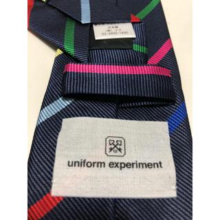 ユニフォームエクスペリメント(uniform experiment)のユニフォームエクスペリメント(uniform experiment)ネクタイ(ネクタイ)