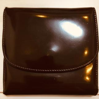 ドリスヴァンノッテン(DRIES VAN NOTEN)のDRIES VAN NOTEN コンパクト三つ折りエナメル財布(折り財布)