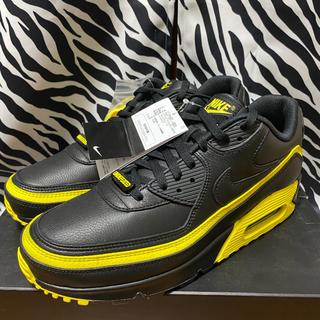 アンディフィーテッド(UNDEFEATED)のundefeated nike air max 90 yellow(スニーカー)