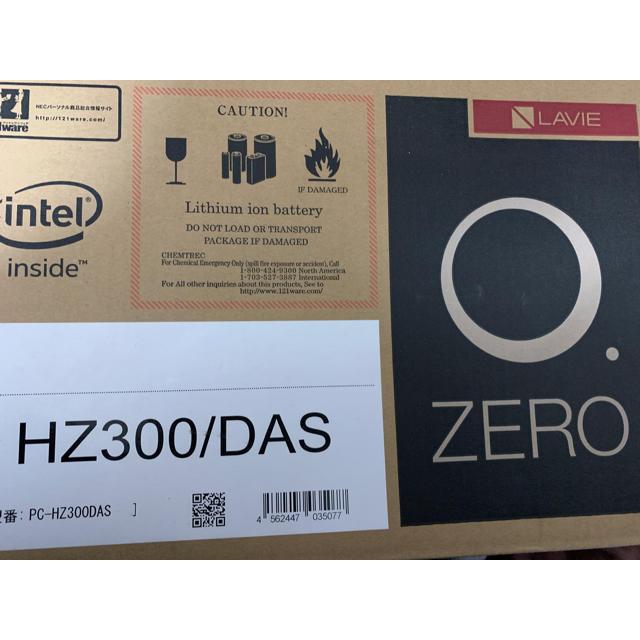 NEC(エヌイーシー)の【値下げ】NEC PC-HZ300DAS LAVIE Hybrid ZERO  スマホ/家電/カメラのPC/タブレット(ノートPC)の商品写真
