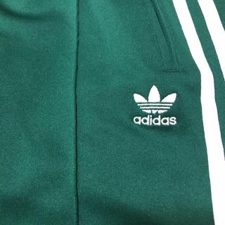 アディダス(adidas)のadidas トラックパンツ 緑(スキニーパンツ)