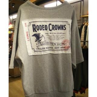ロデオクラウンズワイドボウル(RODEO CROWNS WIDE BOWL)の新品未使用グレー ※ブラックとオレンジ在庫ありません。(Tシャツ(半袖/袖なし))