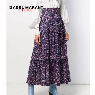 Isabel Marant - 【新品】イザベルマラン 花柄ティアードマキシ丈スカート