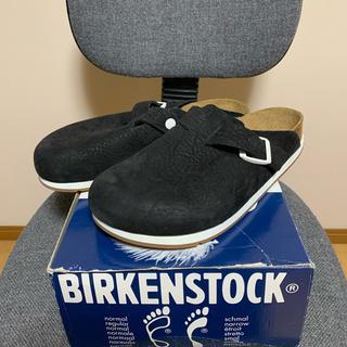 ビルケンシュトック(BIRKENSTOCK)のビルケンシュトック ボストン ブラック幅広41(サンダル)