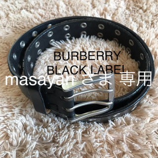 バーバリーブラックレーベル(BURBERRY BLACK LABEL)のBURBERRY BLACK LABEL バーバリー ブラックレーベル ベルト(ベルト)