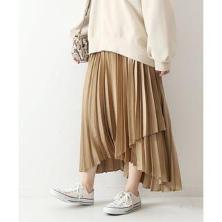 Spick and Span - Spick&Span 20SS サテンラッププリーツスカート