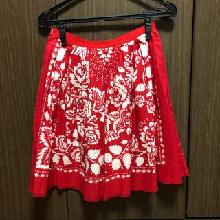 アナスイ(ANNA SUI)のANNA SUI  ハンカチのような巻きスカート(ひざ丈スカート)