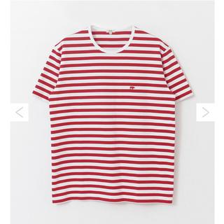 サイ(Scye)のUR × Scye 別注BORDER LOGO T-SHIRTS(Tシャツ/カットソー(半袖/袖なし))