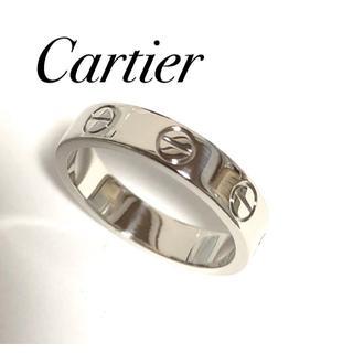 Cartier - カルティエ Cartier K18WG ラブリング WG 46号