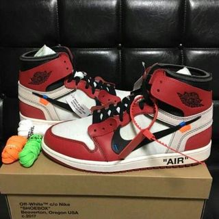 ナイキ(NIKE)のNIKE × off white Air Jordan1 THE TEN 27㎝(スニーカー)