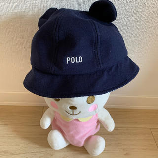 futafuta - 【美品】POLO baby クマ耳 帽子 48