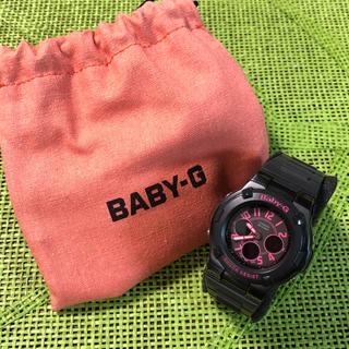 ベビージー(Baby-G)のBaby-G  ピンク・ブラック(腕時計)