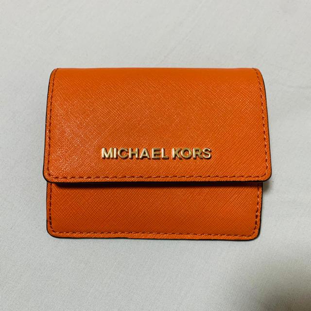 Michael Kors(マイケルコース)のMICHAEL KORS カードケース レディースのファッション小物(パスケース/IDカードホルダー)の商品写真