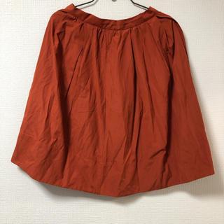 ロキエ(Lochie)のヴィンテージ  オレンジ スカート(ひざ丈スカート)