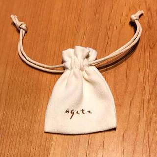 agete - agete 巾着
