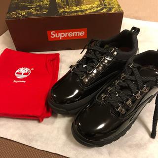 シュプリーム(Supreme)のSupreme®/Timberland® Euro Hiker Low 黒(スニーカー)
